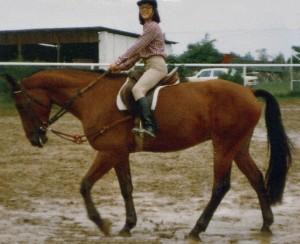 Erste Unterrichtsstunden mit dem 5jährigen Donni, 1979